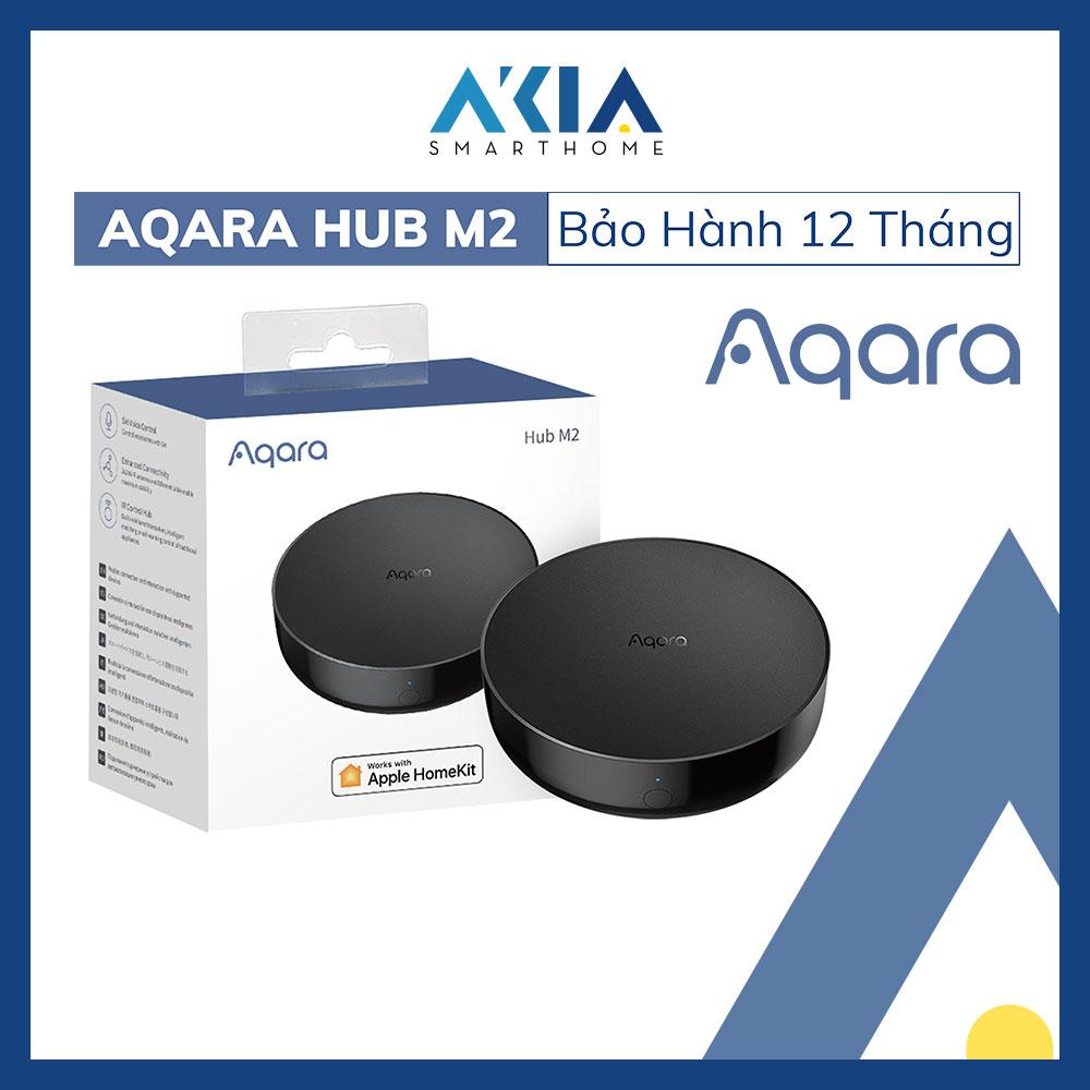 Bộ điều khiển trung tâm Aqara Hub M2 Zigbee 3.0 tương thích HomeKit, cổng LAN RJ45, tích hợp loa, tích...