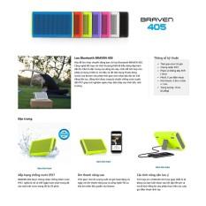 Loa Bluetooth Braven 405 tích hợp sạc dự phòng, loa chống nước – Hàng chính hãng nguyên seal