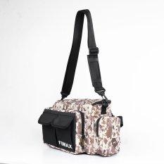 Túi đựng đồ cá nhân đa năng Fimax 6 ngăn cao cấp, túi đựng đồ tập gym đồ thể thao làm bằng vải oxford chống thấm, túi đựng đồ trang điểm nhiều ngăn, túi đựng đồ nghề đeo hông đeo chéo tiện lợi