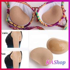 Set 2 Miếng dán Độn Ngực Nâng Ngực tạo khe – Hình trái tim ❤️ [che tên] – KAShop