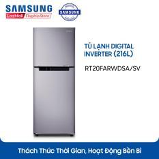 Tủ Lạnh 2 Cửa Digital Inverter Samsung RT20FARWDSA/SV (216L) – Hãng phân phối chính thức, tiết kiệm điện