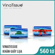 [Mua 2 +1] Khăn giấy lụa rút Vinatissue 280 tờ/ gói