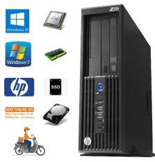 Máy tính bàn HP Workstation Z230 sff, Core i5 4570, Ram 8G, SSD 240G, Hàng nhập khẩu, chưa bao gồm phím chuột và màn hình