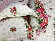 Bộ drap thun hồng dây 04 món