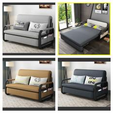 [ SIÊU HÓT ] Giường Sofa thông minh thế hệ mới sang trọng và hiện đại có hộc để đồ tiện ích.KT: 1m6 x 1m9