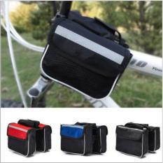 Túi treo sườn xe đạp, phụ kiện treo xe đi đường cho xe Đạp