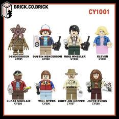 CY1001 – Đồ chơi lắp ráp minifigure nhân vật non lego cậu bé mất tích stranger things – Mô hình sáng tạo cho bé