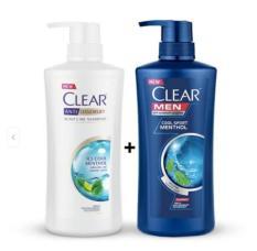 COMBO 2 CHAI DẦU GỘI CLEAR _clearmen và bạc hà – DẦU GỘI