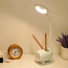 [ Hàng chất lượng ] Đèn bàn tích điện cảm ứng đa năng 3 chế độ ánh sáng vàng nắng chống cận thị 789 | Đức Hiếu Shop