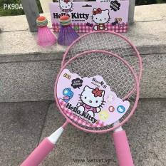 [ XẢ KHO ] Vợt Cầu Lông Trẻ Em Cao Cấp, Bộ vợt cầu lông trẻ em, Vợt cầu lông cho bé, Bộ đồ chơi vợt đánh cầu lông cho trẻ em