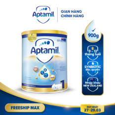 Sữa bột Aptamil New Zealand hộp thiếc số 1 (900g) cho bé 0-12 tháng tuổi