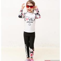 Đồ bơi bé gái 3-12 tuổi 11-29 kg áo dài tay, quần dài co giãn tốt nhiều màu Blueshop68