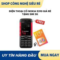 Điện thoại cổ nokia 5310 giá rẻ tặng sim 3g