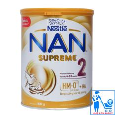 Sữa Bột Nestlé NAN Supreme 2 – Hộp 800g (Cho trẻ 6~24 tháng tuổi)