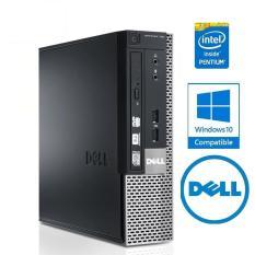 Cây máy tính để bàn Dell OPTIPLEX 790 Sff, EX (CPU G620, Ram 4GB, HDD 250GB, DVD) tặng USB Wifi, bảo hành 24 tháng, hàng nhập khẩu (không kèm màn hình).