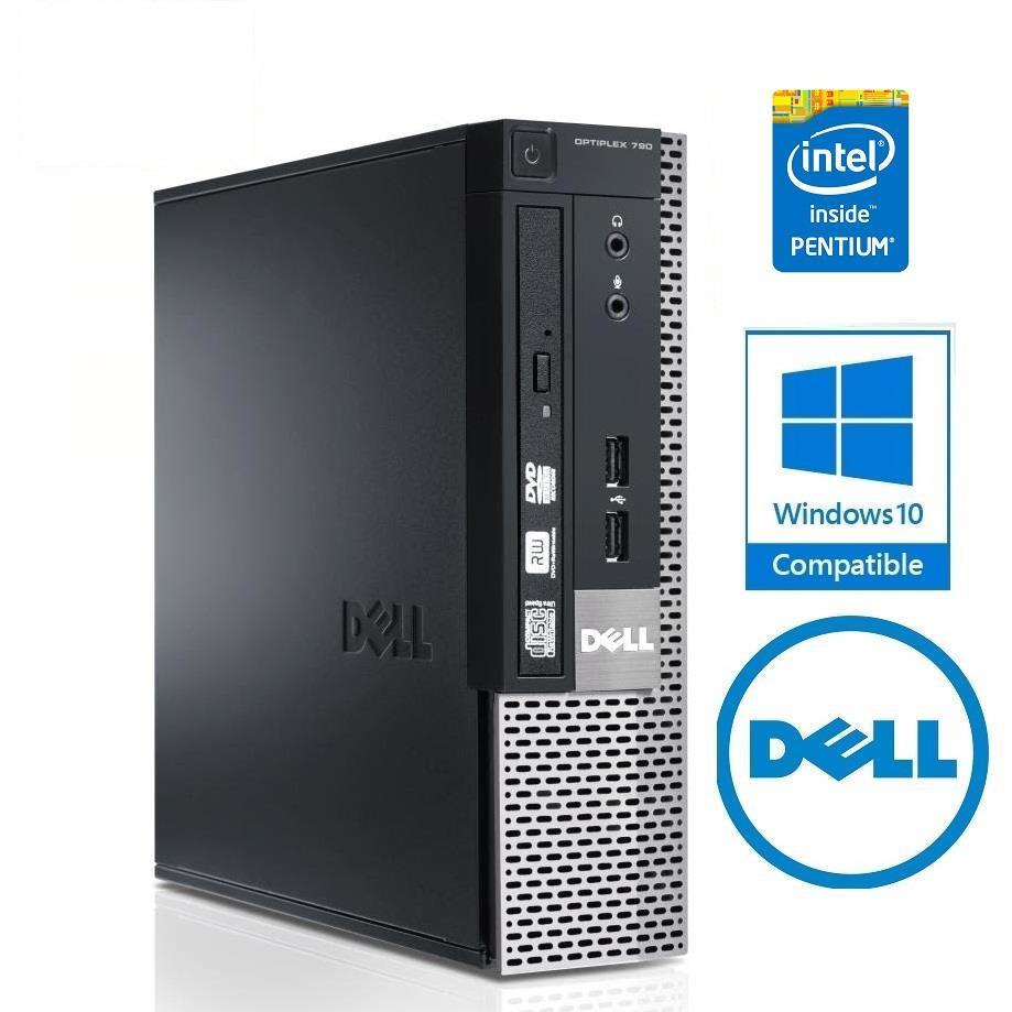 Cây máy tính để bàn Dell OPTIPLEX 790 Sff, EX (CPU G620, Ram 4GB, HDD 250GB, DVD) tặng USB Wifi,...