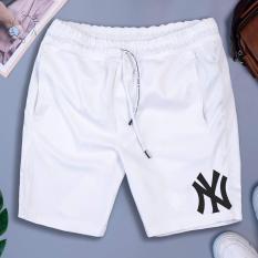 [Freeship – 04 màu] Quần short thể thao NY có 02 túi kéo khoá vải thun lạnh dày đẹp – QSTTNY211