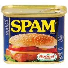 [USA] Thịt Hộp Hormel Spam Classic 340g – Nhập khẩu Mỹ – Date 2021