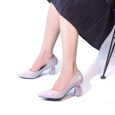 Giày Cao Gót 5cm Mũi Nhọn Gót Mica Pixie P006