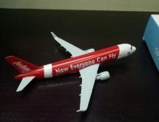 Mô hình máy bay tĩnh B737 Air Asia 16cm Now Everyone Can Fly