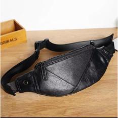 Túi đeo chéo bao tử thời trang, chống nước (Đen) TN