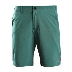 Quần short thể thao nam quần đùi thun nam polyester cao cấp Breli – BQS9013-1M-GME (Xanh melange)