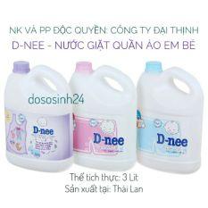 [Tem Đại Thịnh] Nước GIẶT Dnee Thái Lan 3000ml