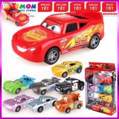 Bộ Đồ Chơi Ô Tô Disney Pixar Car Chạy Bánh Đà Hộp 8 Chiếc Cho Bé Trai, Đồ chơi MONTESSORI, đồ chơi an toàn, đồ chơi giáo dục thông minh phát triển trí tuệ – TIMONKIDS