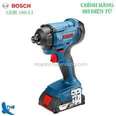 Máy vặn ốc vít dùng pin Bosch GDR 180-LI – sản phẩm thế hệ mới của thương hiệu Bosch với công nghệlithium-ion hoàn hảo