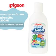 Dung dịch súc rửa bình sữa Pigeon 200ml