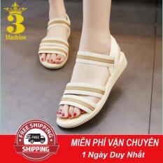 [Hàng⚡HOT] Giày Sandal Nữ Nhẹ Êm Chân Style Hàn Quốc – MSP 3134