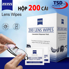Hộp 200 Khăn Lau Lens, Vệ Sinh Đồ Điện Tử Cao Cấp Carl Zeiss Chính Hãng