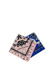 DIRTYCOINS Signature Pattern Bandana Pack – Pink/Blue