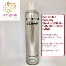 Keo xịt tóc Butterfly Shadow 600ml