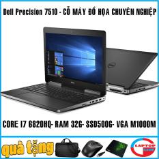 laptop Dell Precision 7510 – máy trạm đồ họa cao cấp mỏng nhẹ – sang chảnh, đẳng cấp, dành cho dân kỹ sư thiết kế chuyên nghiệp