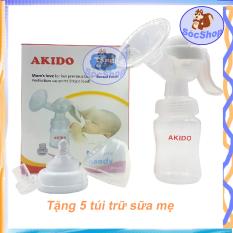 [ Babyshop-SOC2012 ] Máy hút sữa tay Akido đầu hút bằng silicone tạo cảm giác thoải mái, KÍCH THÍCH SỮA CHẢY đều hơn
