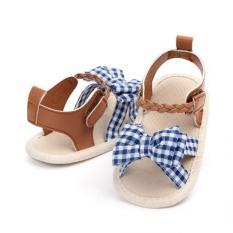 Giày Vải Đế Mềm Nơ Bướm Bé Gái 3-12 Tháng Tuổi