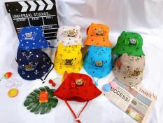 Mũ tai bèo gấu- Mũ vành cho bé