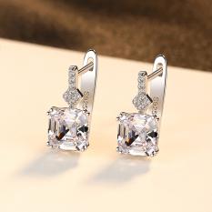 Bông Tai Bạc Nữ Đính Đá | Bông Tai Dáng Dài B2390- Bảo Ngọc Jewelry