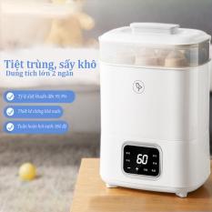 [HCM][Bảo hành 1 năm ] Máy sấy tiệt trùng bình sữa máy khử trùng bình sữa cho trẻ nhỏ an toàn cho trẻ sơ sinh em bé 0 – 3 tuổi khử trùng bằng hơi nước sấy khô bảo vệ sức khoẻ