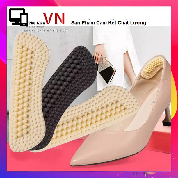 ⚡ Miếng Lót Gót Giày Silicon Bảo Vệ Gót Sau 4D Cao Cấp, Chống Trầy Chân, ⚡