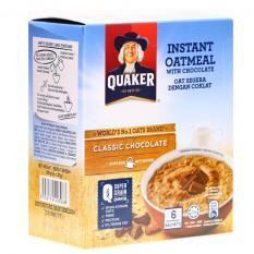 Yến mạch ăn liền Quaker vị socola hộp 180g