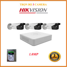 Bộ 3 Camera 1MP HIKVISION NT-H316C0T-IT3