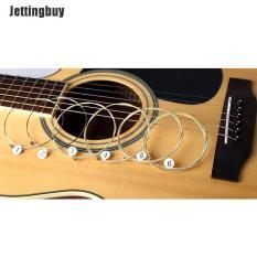 Jettingbuy 1 bộ 6 dây đàn ghita bằng thép mạ niken dành cho ghita acoustic – INTL