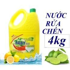 Nước Rữa Chén Abay Hương Chanh Tự Nhiên 4ML