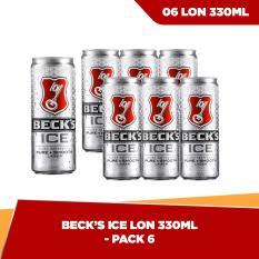 Beck's Ice lon 330ml – Pack 6