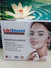 Mắt kính bảo hộ chống dịch LIKISHIELD, chống giọt bắn, chống bụi che hết khuôn mặt bảo vệ mắt, chống sương