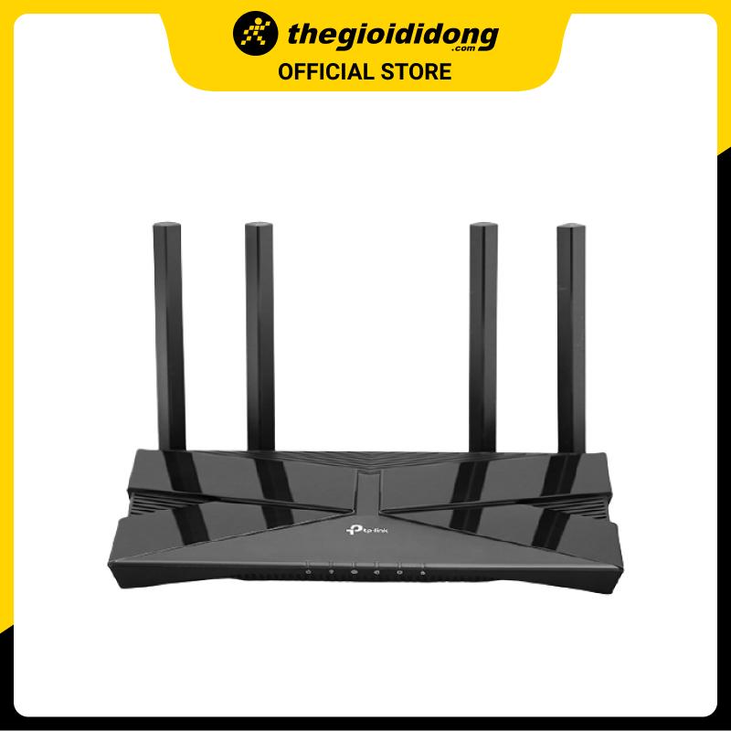 Bộ Phát Sóng Wifi Router Chuẩn Wifi 6 AX1500 Băng Tần Kép TP-Link Archer AX10 Đen