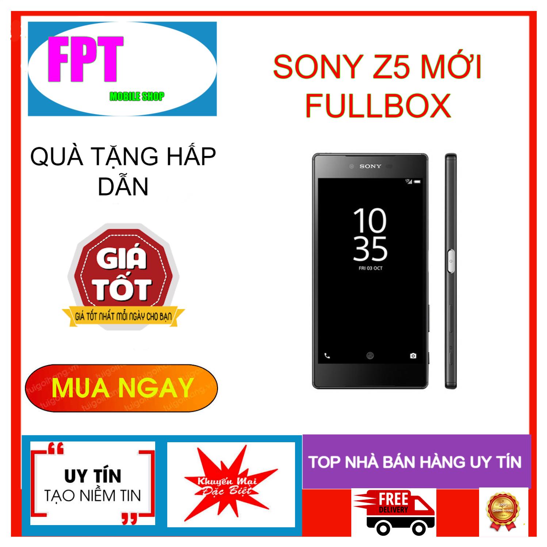 Điện thoại SONY XPERIA Z5 MỚI FULLBOX NGUYÊN ZIN Màn hình: IPS LCD, 5.2″,Full HD – CPU: Snapdragon 810 8 nhân 64-bit BAO ĐỔI MIỄN PHÍ TẬN NHÀ TRONG 7 NGÀY