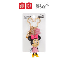 Móc treo trang trí Minnie Mouse Collection Miniso Plush Key Chain Pendant